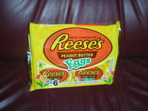 Reese's Easter Peanut Butter Eggs Milk Chocolate Candy 7.2 OZ 6-Pack Limited Ed.