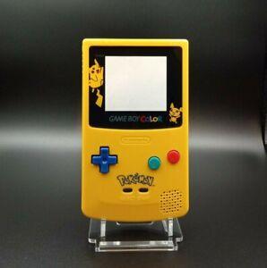 Nintendo - Kit - Coque Game Boy color GBC - Pokémon - vitre VERRE - Qualité +