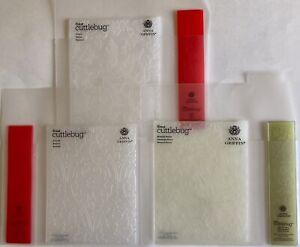 Anna Griffin Cuttlebug Embossing Folders W/Borders (3)