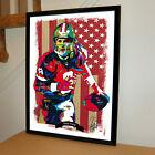 Steve Young San Francisco 49ers Football Sports Poster Print Wall Art 18x24