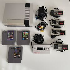 Nintendo Entertainment System NES Konsole 4 Controller 5 Spiele Topzustand!!!