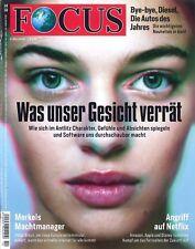 FOCUS Magazin - Heft 10/2018:Was unser Gesicht verrät  +++ wie neu +++