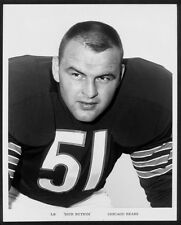 YOUNG BEARS HALL OF FAME GREAT DICK BUTKUS PORTRAIT 8 x10 ! !