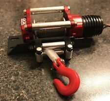KYX Cable Winch & Bumper Mount Axial SCX10 Wraith Off Road SCX10ii 4x4 Crawler