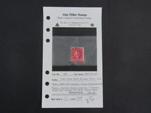 Nystamps US Stamp # 488 Used $500 paid $300 from Alan Miller m7x