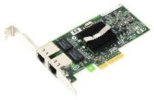 HP 412651-001 NETWORK CARD PCIe DUAL 1Gbit RJ-45