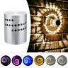 1-10x 3W LED Wand Licht Dimmbar Innen RGB Deckenleuchte Spirale Effekt Wandlampe