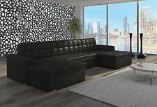 Couch Couchgarnitur Sofa Polsterecke VET 8 Wohnlandschaft mit Schlaffunktion