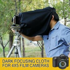New Black Dark Cloth Focusing Hood For 4X5 Large Format Camera Wrapping