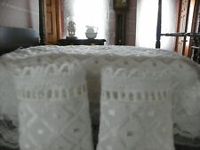 Dollhouse Bedspread With 2 Pillow Shams And Two Window Curtain sets and Rods