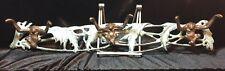 SPI~Brass Monkey Coat Rack 6 hooks- Made In California