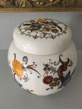 """Vintage Sadler Ginger Jar Floral Design Lovely 13 Cm 11"""" China Porcelain"""