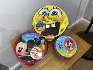 Mickey Mouse And Spongebob kids lunch box set