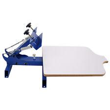Simple Single 1 Color 1 Station T Shirt Silk Screen Printing Machine Ns101