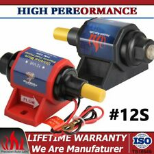 4-7PSI Universal 12S Micro Electric External Fuel Pump Carburetor 12V 35 GPH Gas