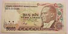 TURQUIE 5000 Lire 1970 Türk Lirasi YIRMI BIN