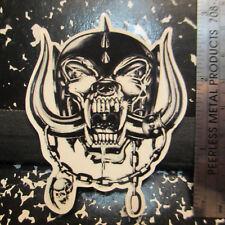 "MOTORHEAD 'Snaggletooth' Sticker; 3"" Tall; nm/m nos; Old School 'Ace of Spades'"