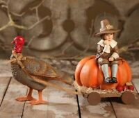 Bethany Lowe Designs: Thanksgiving; Thanksgiving Turkey and Buggy