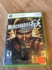 Mercenaries 2: World in Flames (Microsoft Xbox 360, 2008) VC1