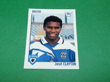 N°26 JOSE CLAYTON SC BASTIA SCB FURIANI PANINI FOOT 99 FOOTBALL 1998-1999