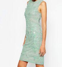 Branded TALL Midi Printed Shift Dress with Embellishment UK 10/EU 38/US 6
