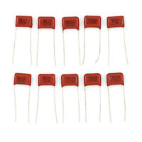 10Pcs 630V 22nf 0.022uf Radial Metallized Polypropylene Film Capacitor   HQ