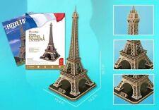 Torre Eiffel Paris Francia Tour Eiffel, 3 D Puzzle, 78 CM Nuovo