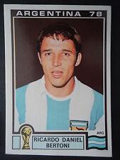 Panini 105 Ricardo Daniel Bertoni Argentina WM 78 World Cup Story