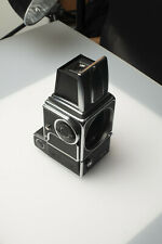 Hasselblad 500 EL with AAA battery adapter battery pack - working shutter -