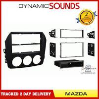 CT24MZ20 Stereo Single/Double Din Matt Black Fascia Adaptor For Mazda MX5 09-15