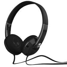 Skullcandy Uprock On-Ear Kopfhörer mit doppellagige Ohrpolster in Schwarz