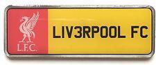 Grande Liverpool Football Club Targa Distintivo Spilla Smaltata Ufficiale