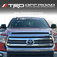 TOYOTA TRD Bass Fishing Edition Fish Decal Sticker Vinyl truck Tacoma Tundra fh