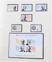Liechtenstein 1975 bis 2012 postfrische Sammlung komplett in 2 Safe Dual-Alben