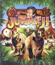 Jumanji 1995 PG fantasy adventure family movie, new DVD Robin Williams, K Dunst