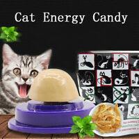 Cat snacks catnip sugar candy licking solid nutrition energy ball toys healthy``