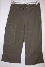 Sportif USA Womens Size 4 Green Cotton/Nylon Outdoor Cropped Pants Capris NWT