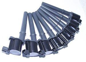 8 PCS SET Ignition Coil for99-10 Ford Mustang GT Coupe 2D 4.6L V8 DG512, DG543