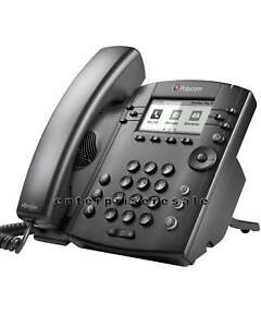 Polycom VVX 311 IP GIG Phone 2200-48350-001 VVX311 w/PWR (NEW)