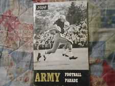 1969 ARMY CADETS FOOTBALL MEDIA GUIDE Yearbook Parade College Press Book AD