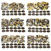 600pcs/pack Number Confetti Star Happy Birthday Push Popper Tissue Paper C#P5