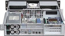 "2U (Ext-ATX)(Door)(LCD)(4x5.25""+ 4xHDDs) Rackmount Case (Redundant PSU OK!) NEW"