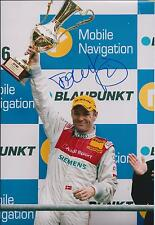 Tom KRISTENSEN SIGNED DTM AUDI Race Winner AUTOGRAPH 12x8 Photo AFTAL COA
