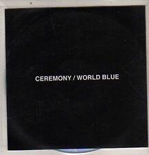 (DB833) Ceremony, World Blue - 2012 DJ CD