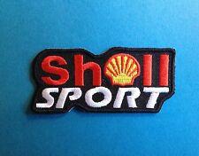 Shell Sport F-1 Rally Car Racing Sponsor Iron On Hat Jacket Uniform Patch Crest