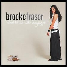 BROOKE FRASER - WHAT TO DO WITH DAYLIGHT CD Album *NEW*
