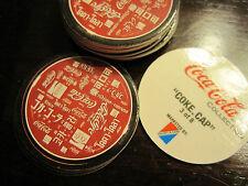 Coca Cola Collectible Trading Card Cap Pop Pogs # 3 of 8 Collect-A-Card