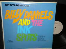 """""""Spotlight on Billy Daniels and The Ink Spots"""" LP"""