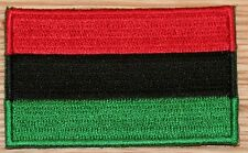 AFRICAN AMERICAN Flag Embroidered PATCH Badge