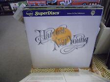 Neil Young Harvest LP 1982 Super Disc Nautilus Records VG+ Gatefold w/ Insert